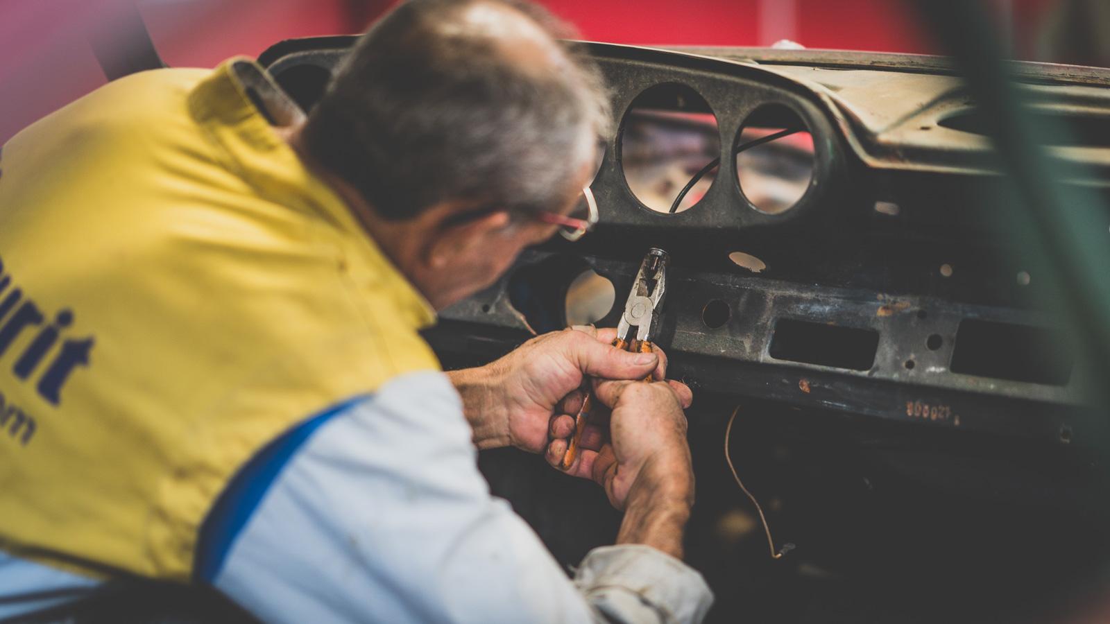 Carrozzeria Bottini Porsche 911 smontaggio