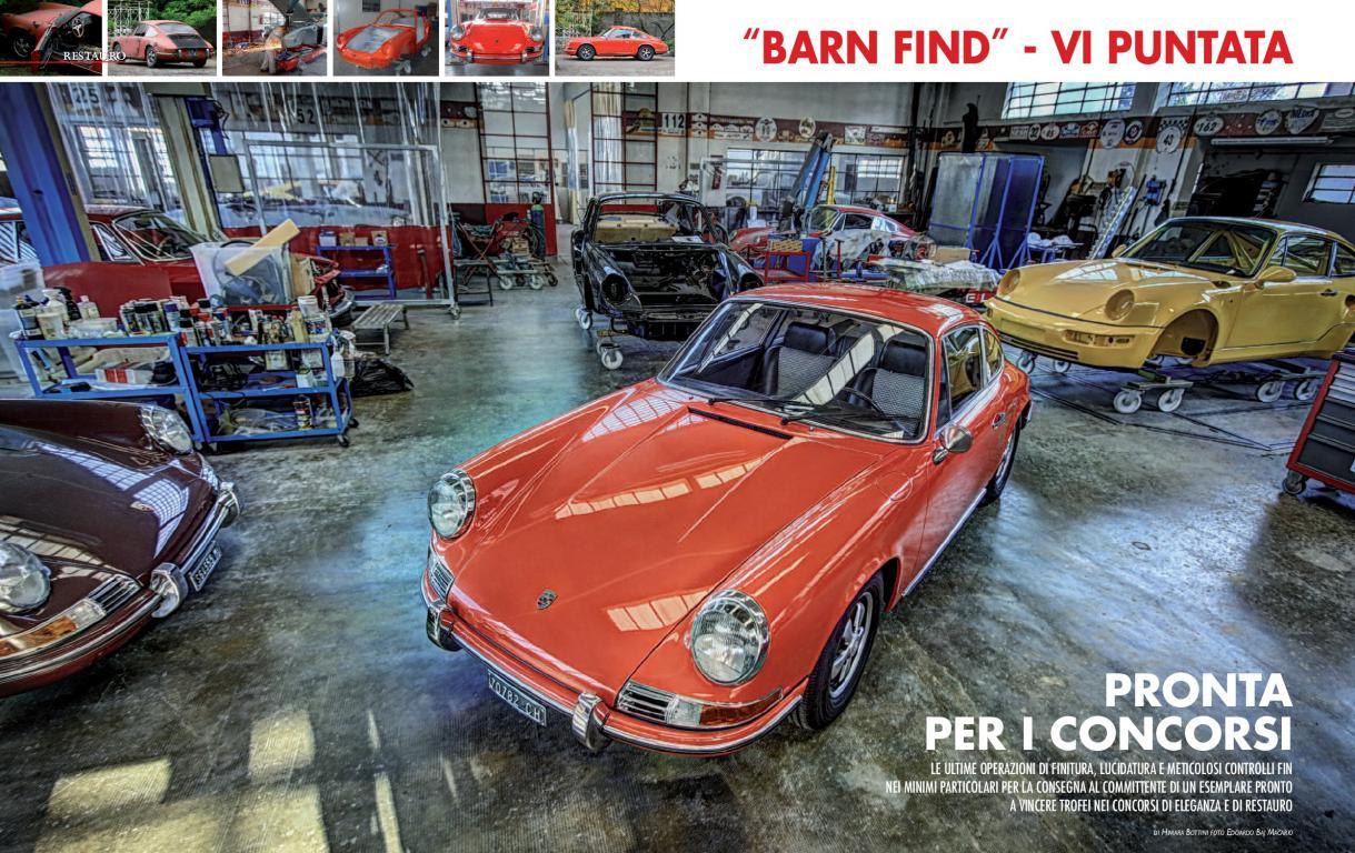 """E' in edicola l'ultima puntata sul restauro della nostra """"barn find""""."""
